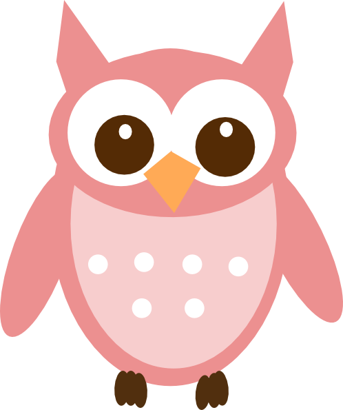 Woodland grey baby owl clipart clip free Pink Owl Clipart | Free download best Pink Owl Clipart on ... clip free