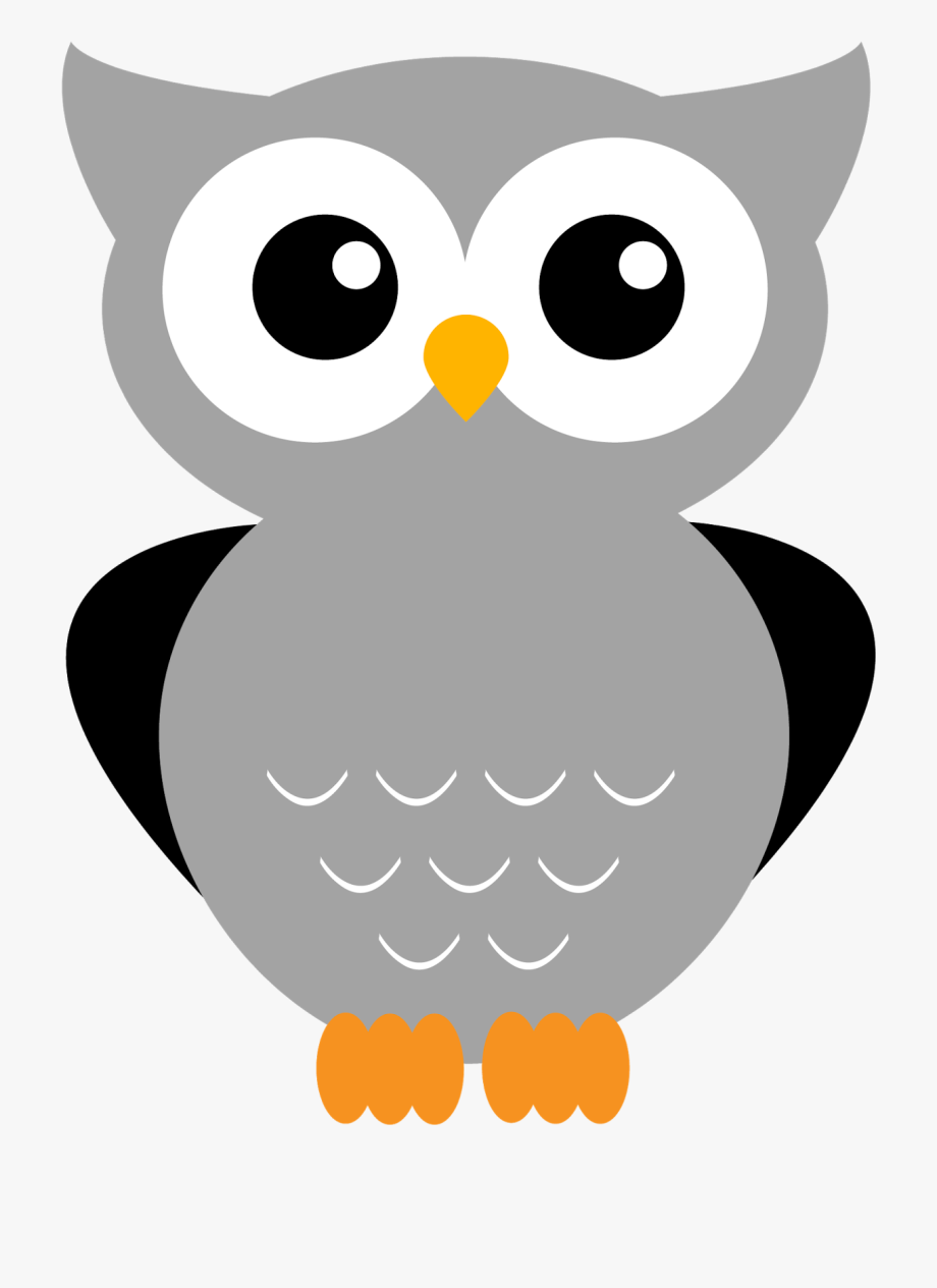 Woodland grey baby owl clipart clipart transparent download Giggle And Print Owl Clipart Owl, Animal - Gray Owl Clipart ... clipart transparent download