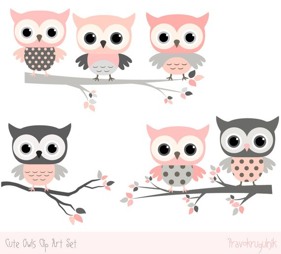 Woodland grey baby owl clipart clip art transparent library Baby shower owl clipart images, Cute owl kawaii clip art ... clip art transparent library