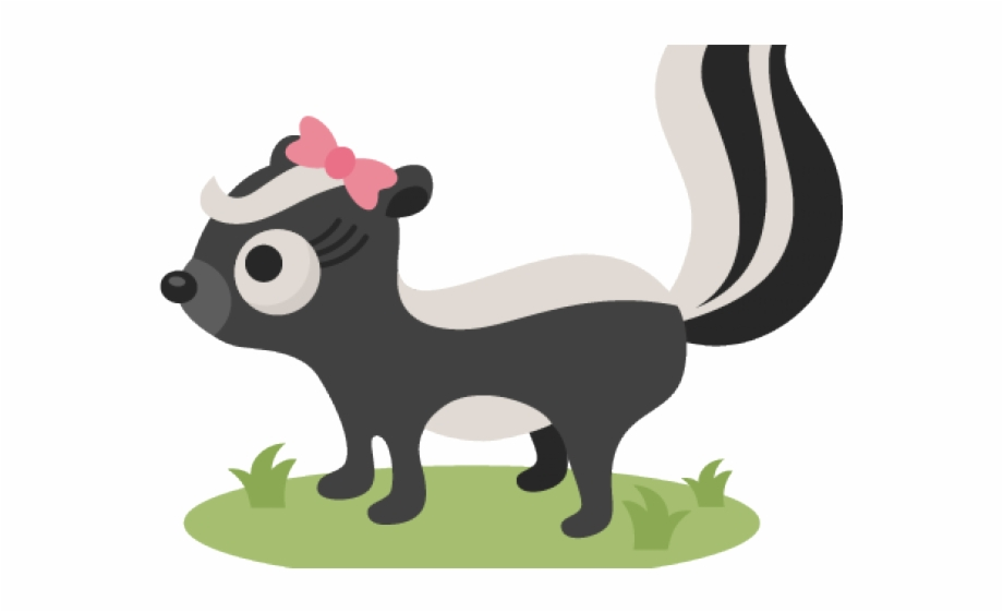 Woodland skunk animals clipart banner black and white download Skunk Pictures Free Woodland Clipart Skunk For Free ... banner black and white download