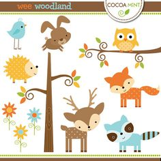 Woodland themed baby shower clipart clip art free stock Free Woodland Cliparts, Download Free Clip Art, Free Clip ... clip art free stock