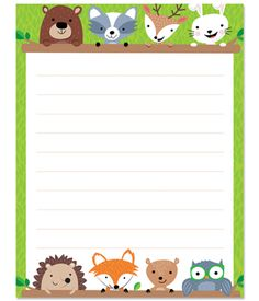 Woodland themed border clipart picture library 100 Best Woodland Friends images in 2019 picture library