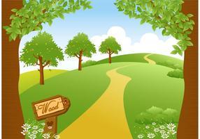 Woodland trail clipart jpg free stock Path Free Vector Art - (26,569 Free Downloads) jpg free stock