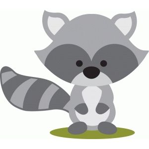 Woodlnd raccoon clipart clipart free download Silhouette Design Store: woodland raccoon | Fall 2018/2019 ... clipart free download