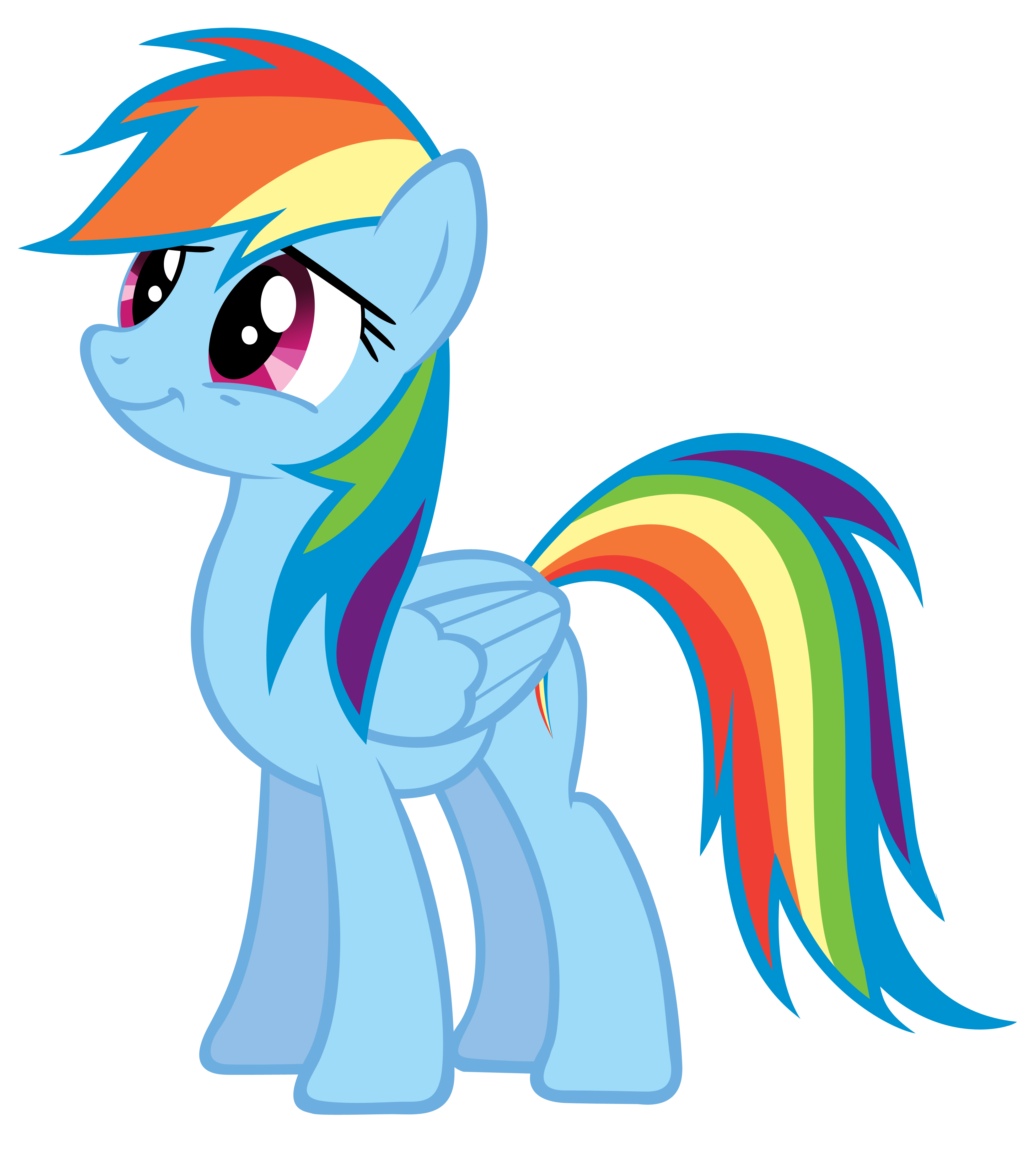 Woods dash clipart svg stock Rainbow Dash My Little Pony Drawing - dash png download ... svg stock