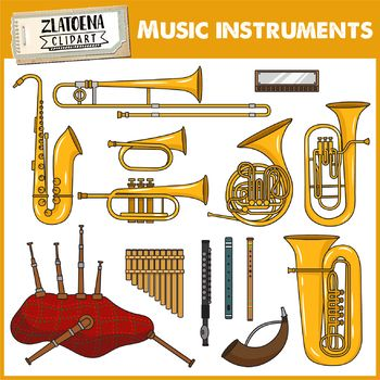 Woodwind clipart vector royalty free stock Musical Instruments Clip Art - Woodwind Instruments ... vector royalty free stock