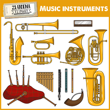 Woodwind instruments clipart clipart library download Musical Instruments Clip Art - Woodwind Instruments clipart library download