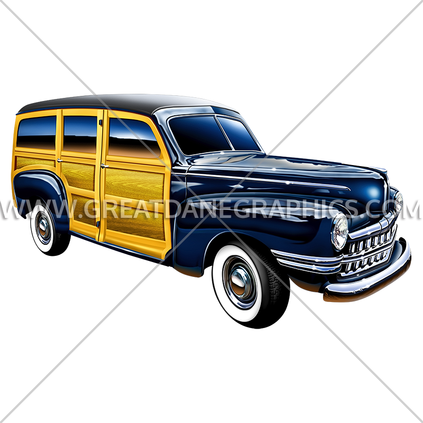 Woody car clipart svg royalty free library Woody Wagon   Production Ready Artwork for T-Shirt Printing svg royalty free library