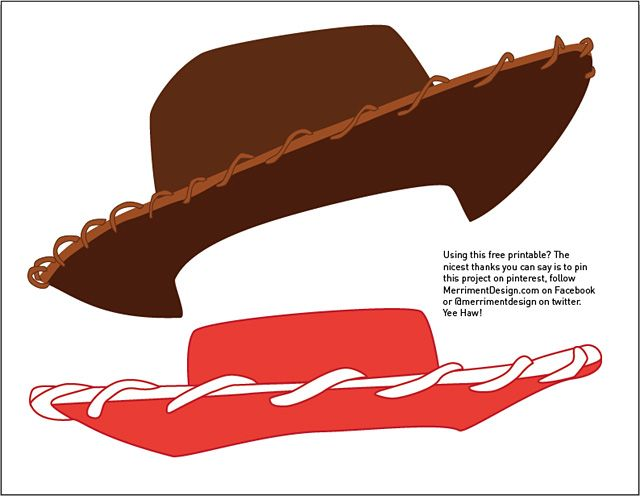 Woody-s sheriff hat clipart free More free printable Toy Story photo booth props - Woody ... free