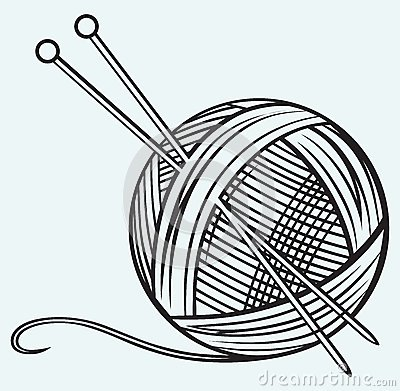 Wool ball clipart black and white Wool ball clipart 1 » Clipart Portal black and white