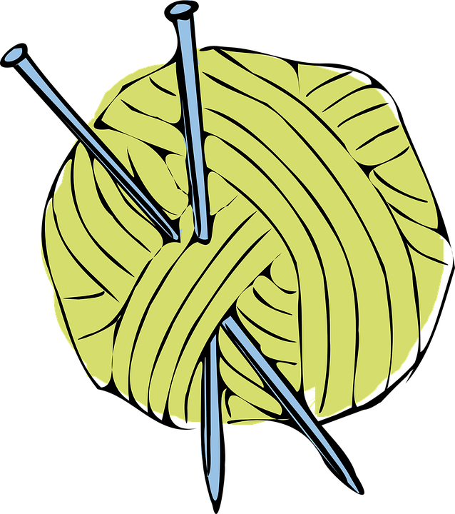 Wool clipart png picture transparent library Free PNG Knitting Needles And Yarn Transparent Knitting ... picture transparent library