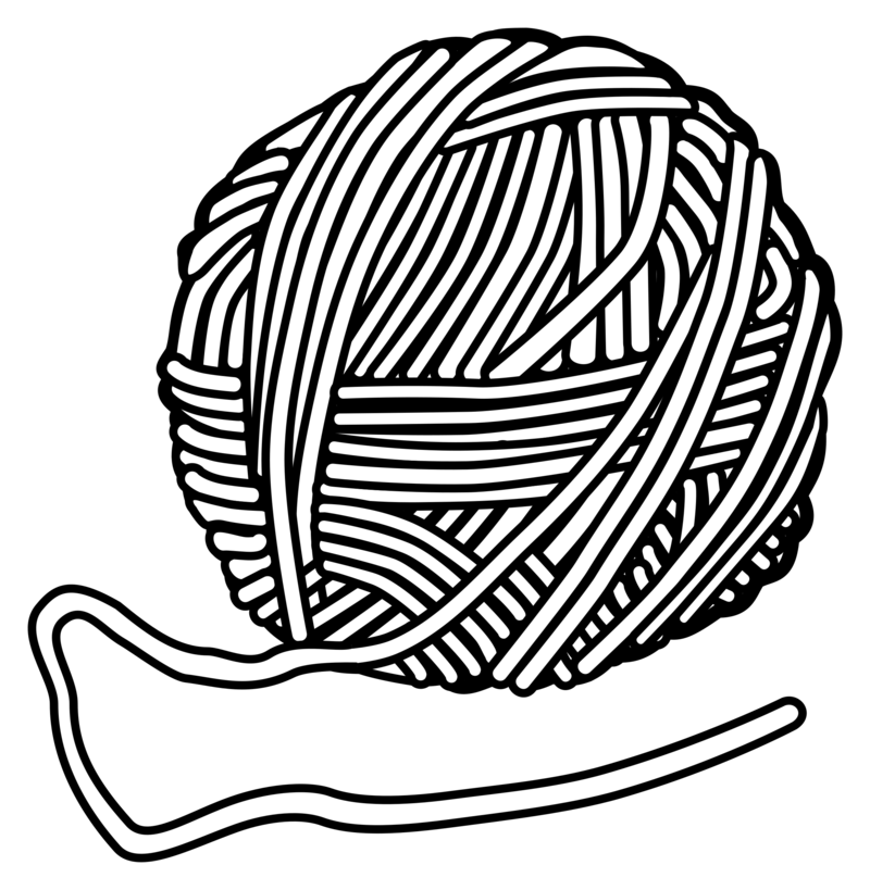 Wool clipart png jpg transparent stock Download Free png Clipart wool lineart - DLPNG.com jpg transparent stock