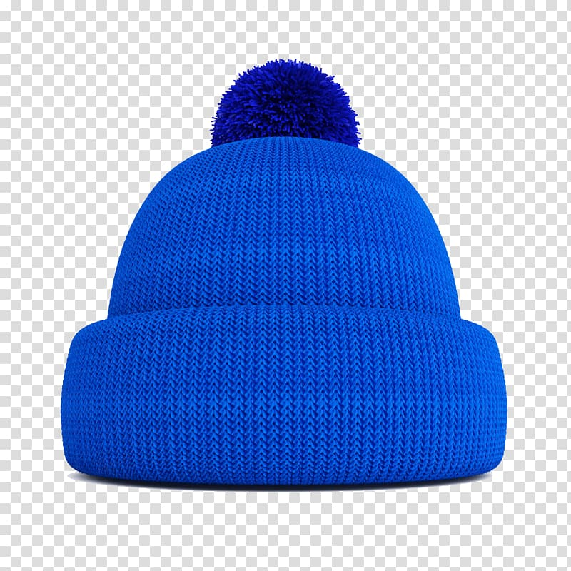 Knitted hat clipart transparent Beanie Blue Hat Wool, Blue knitted wool hat transparent ... transparent