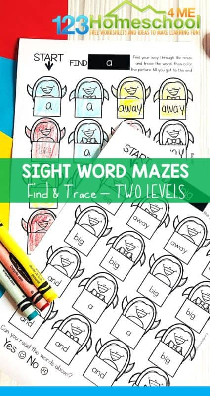 Word activities clipart free image royalty free stock Penguin Pre K Sight Word Mazes | 123 Homeschool 4 Me image royalty free stock