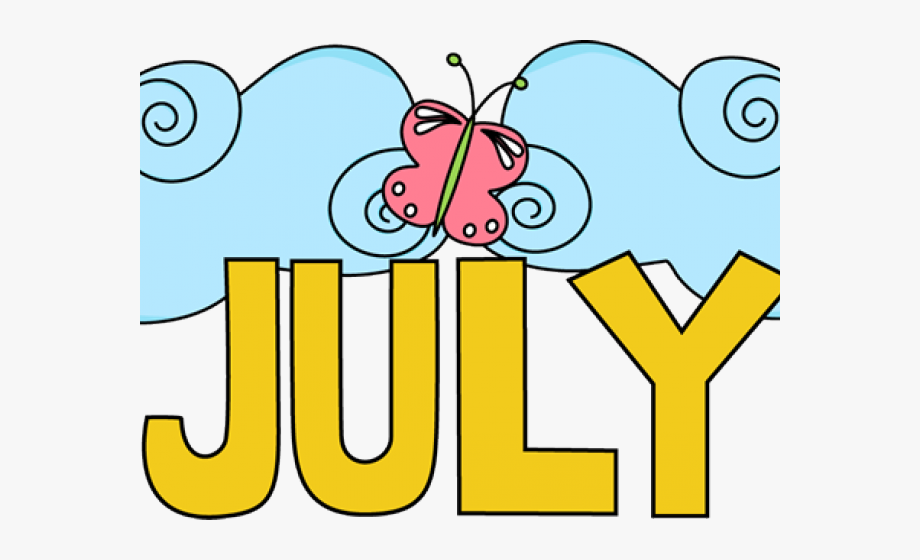 Transparent Summer Word Art Png - Months Of The Year Clipart ... jpg free