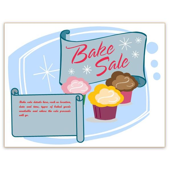 Words bake sale clipart clipart freeuse stock Free Free Printable Bake Sale Flyers, Download Free Clip Art ... clipart freeuse stock
