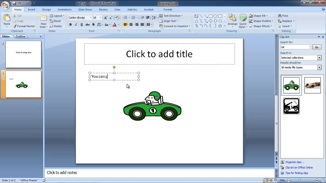 Putting text on cliparts freeuse library Wrap Text Around Image Powerpoint freeuse library