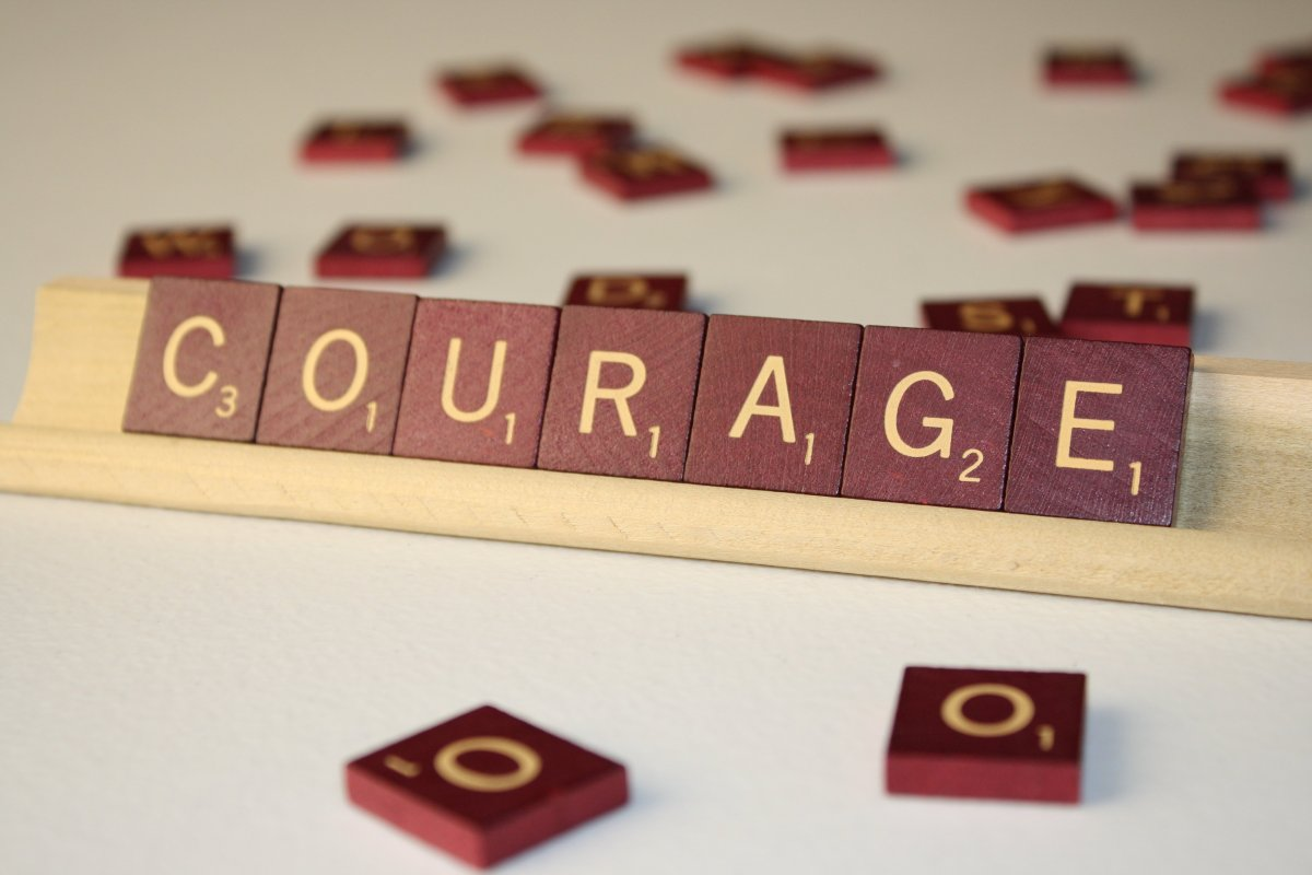 Word clipart courage image black and white Courage. – Shaunanagins image black and white