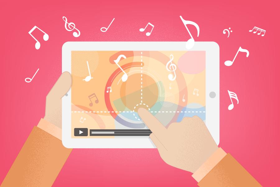 Word clipart generator jpg Free Music Video Maker Online   Renderforest jpg