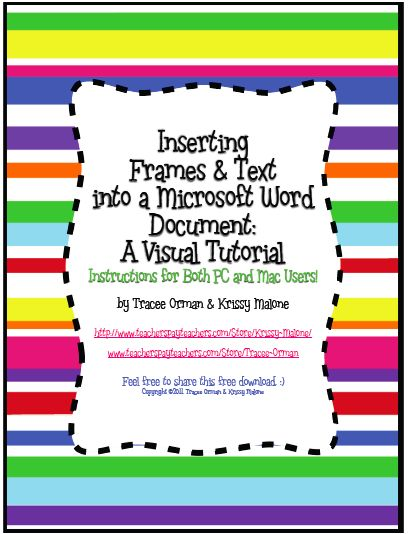 Word doc clipart clip art free library How to Insert Frames & Borders with Text in Microsoft Word ... clip art free library