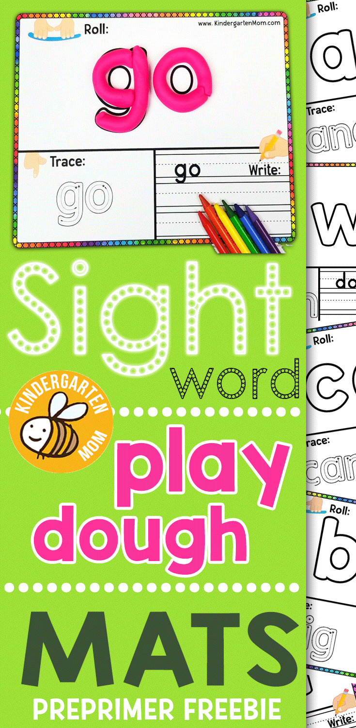 Word dough clipart banner library library 40 FREE Sight Word Play Dough Mats This free set of pre ... banner library library