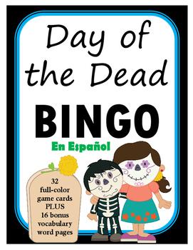 Word loteria clipart royalty free LOTERIA: Dia de los Muertos + 16 bonus pages of vocabulary words royalty free