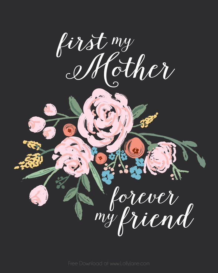 Word mom bold big clipart svg library Free Mothers Day Printable Art | Gift Ideas | Mother\'s day ... svg library