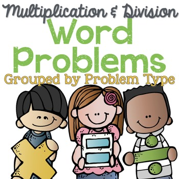 Word problems clipart clip art free download Multiplication and Division Word Problems by Problem Type | TpT clip art free download