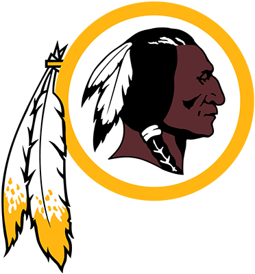 Word redskins clipart image black and white Washington Redskins Colors Hex, RGB, and CMYK - Team Color Codes image black and white