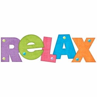 Word relax clipart transparent image black and white download Free Relaxing PNG Image, Transparent Relaxing Png Download ... image black and white download