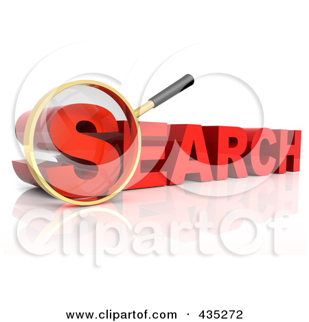 Word search clip art image royalty free stock Royalty-Free (RF) Clipart Illustration of a 3d Magnifying Glass ... image royalty free stock