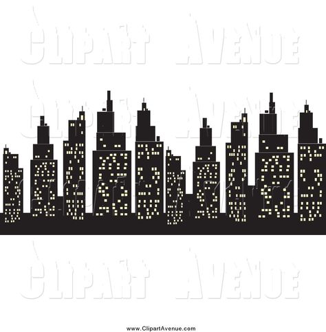 Word skyscrapers clipart clip art black and white stock Pinterest clip art black and white stock