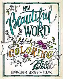 Word study colored clipart vector NIV, Beautiful Word Coloring Bible, Hardcover: Hundreds of ... vector