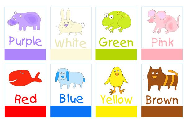 Word study colored clipart graphic royalty free download printable color poster for preschool | Printable preschool ... graphic royalty free download