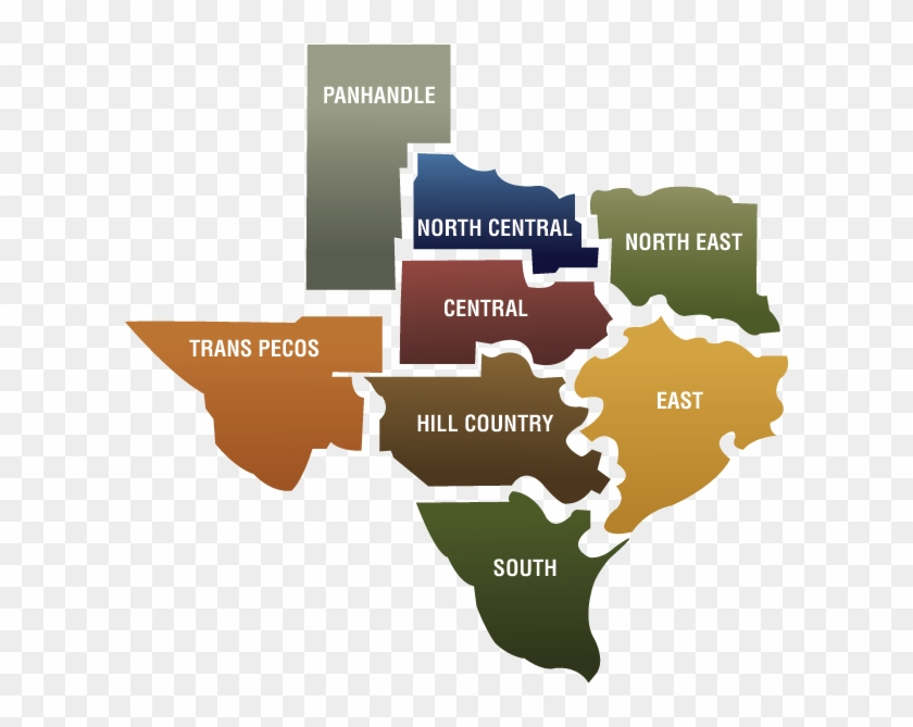 Word texas clipart silhouette png royalty free download Texas Regions - Texas Silhouette Png, Transparent Png ... png royalty free download