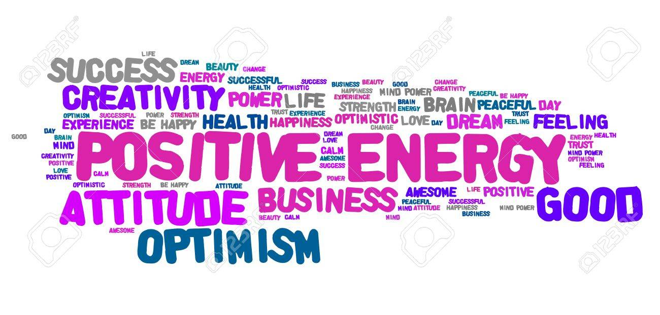 Word thinking positive clipart banner free stock Good Thinking Clipart banner free stock