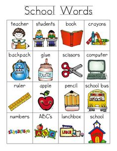 Wordbank clipart clip art black and white library 21 Best Vocabulary Cards images in 2018 | Learning english ... clip art black and white library
