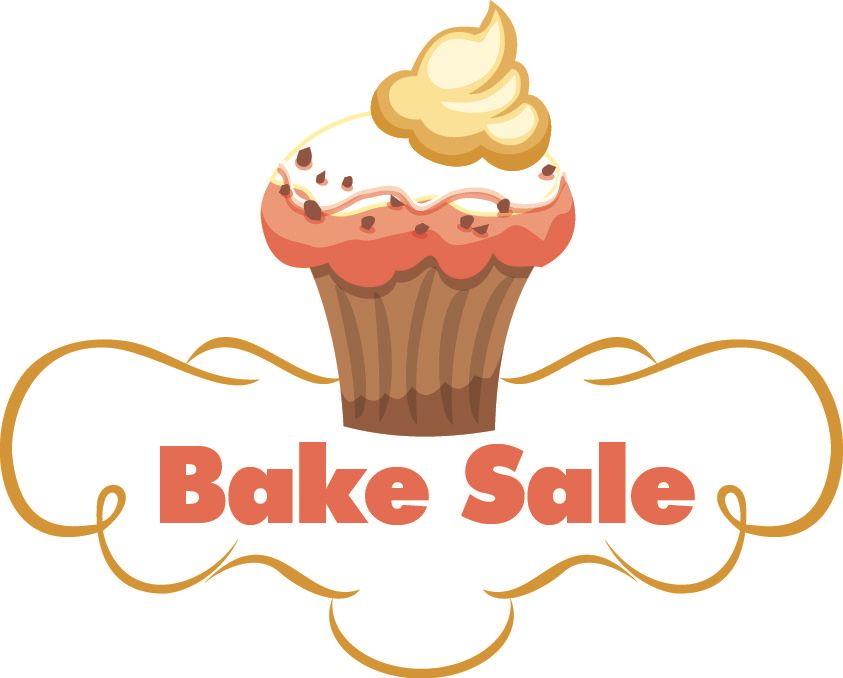 Words bake sale clipart vector black and white library bake sale clipart - Honey & Denim vector black and white library