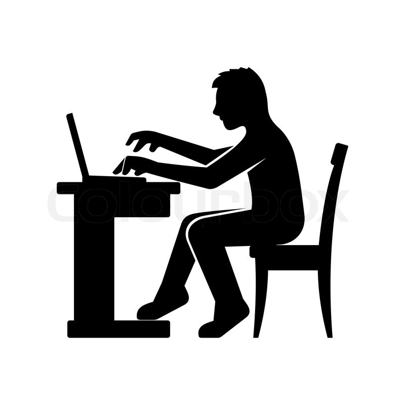 Work clipart silhouette