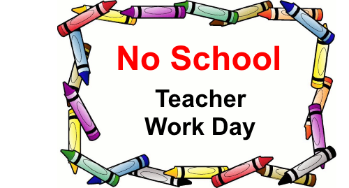 Work days clipart clipart freeuse download May 30 & 31 Teacher Workdays (No School) – Parkway Christian ... clipart freeuse download