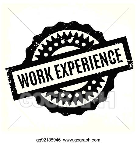Work experience clipart clip library stock Vector Art - Work experience rubber stamp. EPS clipart ... clip library stock