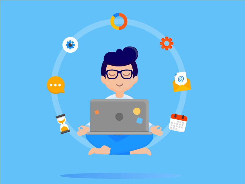 Work on animation project clipart svg freeuse library Role of Project Manager in App Development Process - IDAP Blog svg freeuse library