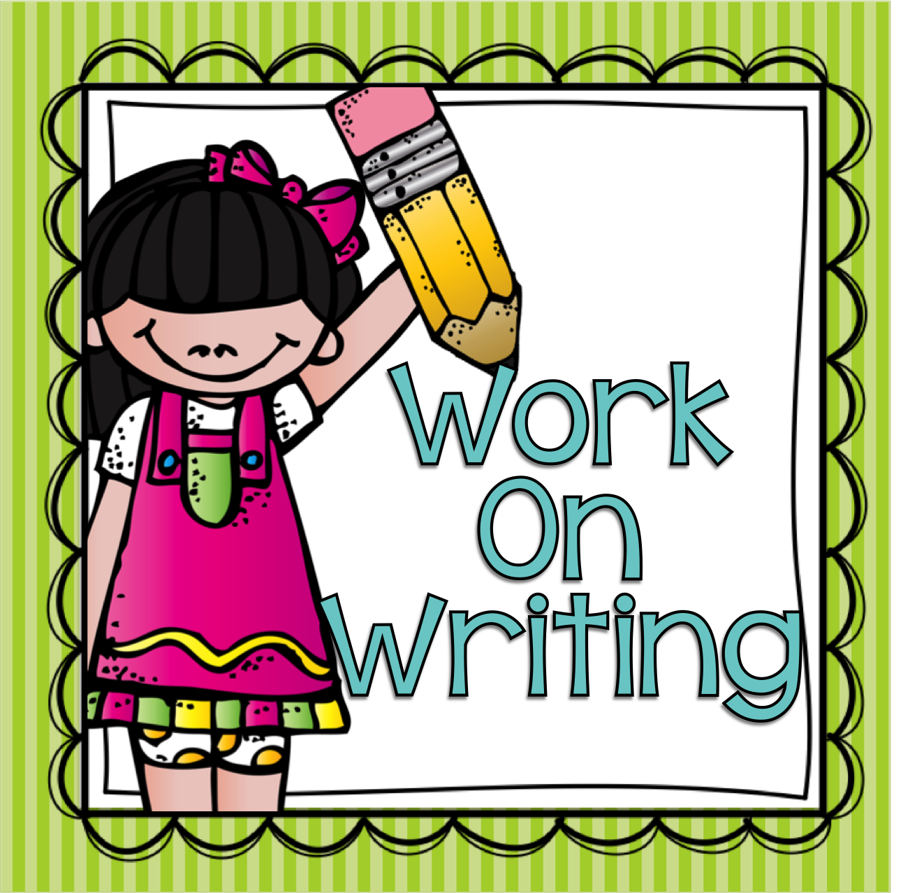 Writing stations clipart picture royalty free stock Work on writing clipart 4 » Clipart Station picture royalty free stock