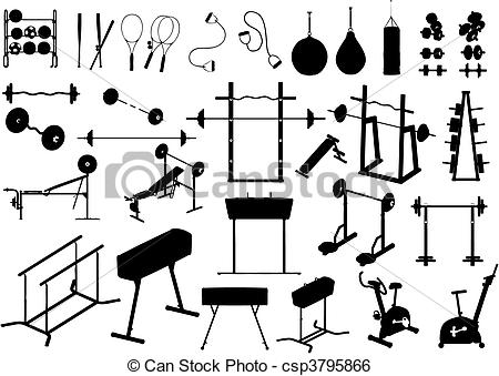 Work out equipment clipart banner free library Gymnastics equipment clipart - ClipartFest banner free library
