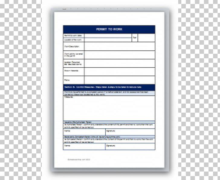 Work permit clipart banner free Document Template Permit To Work Work Permit Computer ... banner free