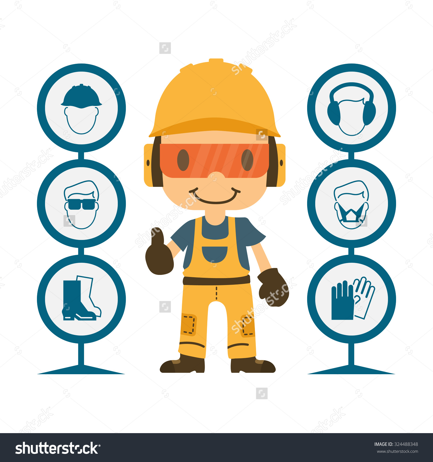 Work safety clipart jpg freeuse download Safety Ppe Clipart (75 ) - Free Clipart jpg freeuse download