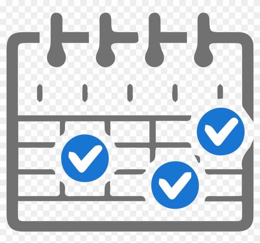 Work schedule clipart transparent jpg free library Scheduling Your Work - Work Schedule Icon - Free Transparent ... jpg free library