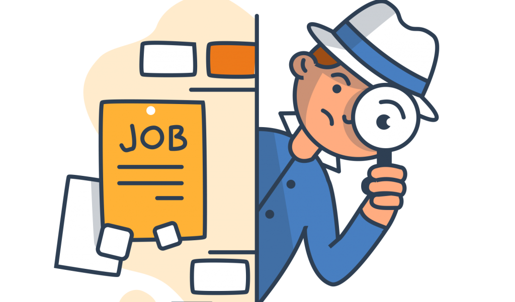 Working at first job clipart image black and white How Can You Make Your Job Search Simpler - AMCAT Blog image black and white