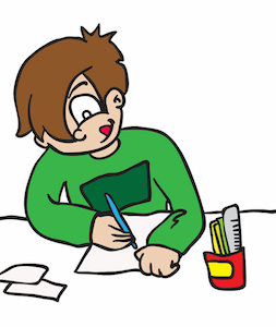Working hard in school clipart graphic royalty free stock Kids Working Hard Clipart graphic royalty free stock