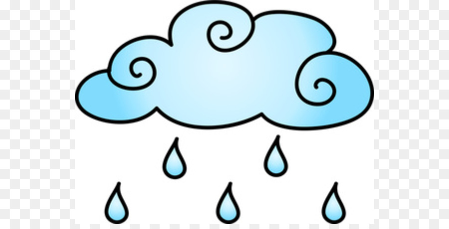 Working in a rainstorm clipart picture freeuse download Rain Cloud Clipart png download - 600*450 - Free Transparent ... picture freeuse download